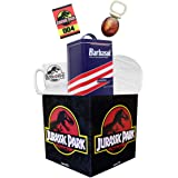Jurassic Park Looksee Gift Box   Includes 5 Official Jurassic Park Collectibles   Perfect For Jurassic Park Fans   Packaged I