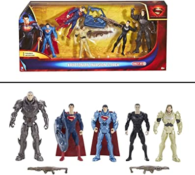 Superman Man of Steel Kryptonian Invasion Exclusive Action Figure ...