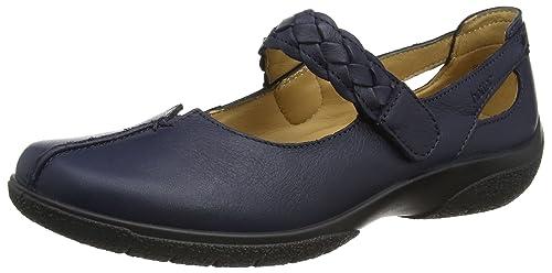 Shake - Shake/Std/Lea, Zapatos Mary Jane Mujer, Azul (Navy), 42 EU Hotter