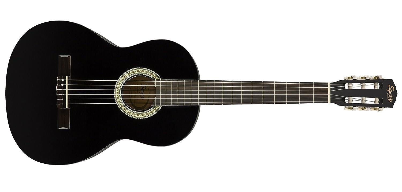Squier by Fender アコースティックギター SA-150 SQUIER DREADNOUGHT, BLACK B071HW9GZB ブラック 単品