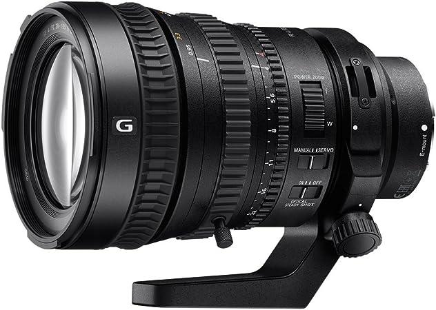 Sony Sel P28135g G Powerzoom Video Objektiv Schwarz Kamera