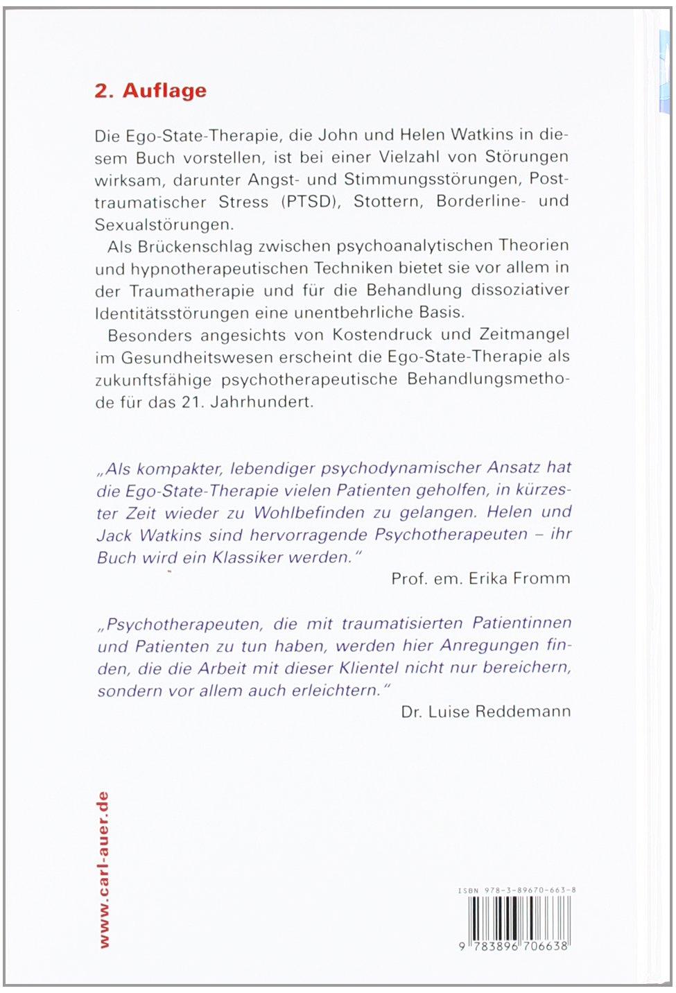 Ego-States - Theorie und Therapie: Ein Handbuch: Amazon.de: John G Watkins,  Helen H Watkins: Bücher