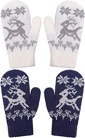 2-4+ Years Easy Kiddos Easy Mittens