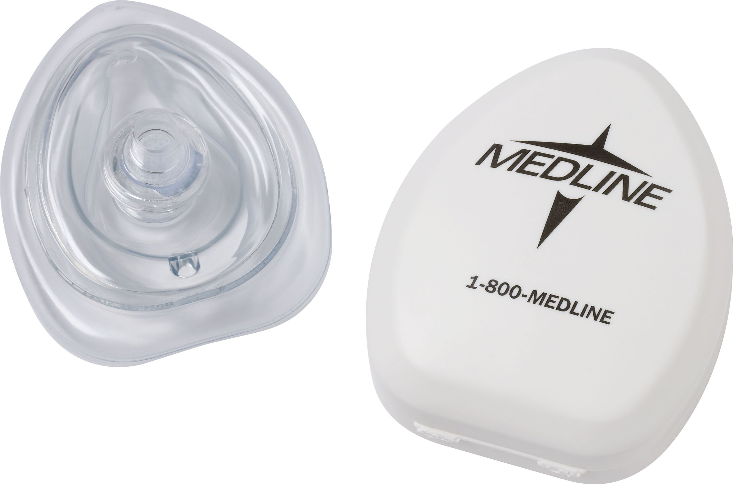 Medline Industries HCS64184 CPR Mask with Case/Filter, Latex Free, Adult/Child (Pack of 12)