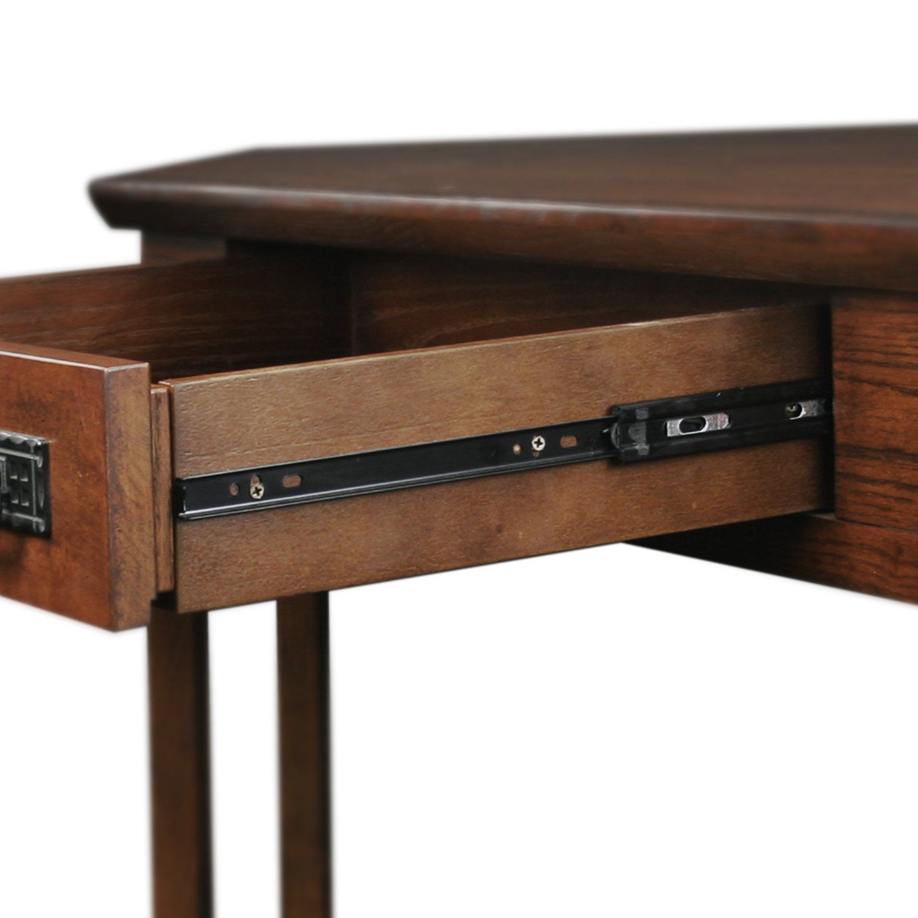 Leick Corner Computer and Writing Desk, Mission Oak Finish by Leick Furniture (Image #5)