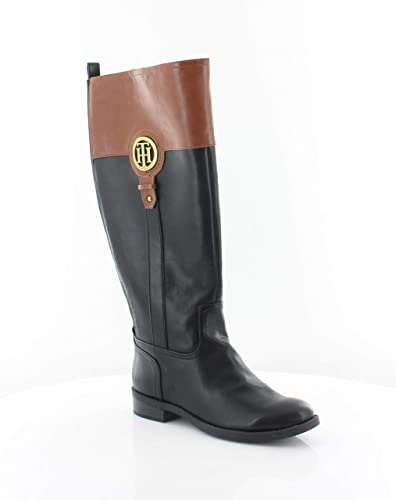 c9c253b1d Tommy Hilfiger Womens Ilia-2 Almond Toe Knee High Fashion Boots
