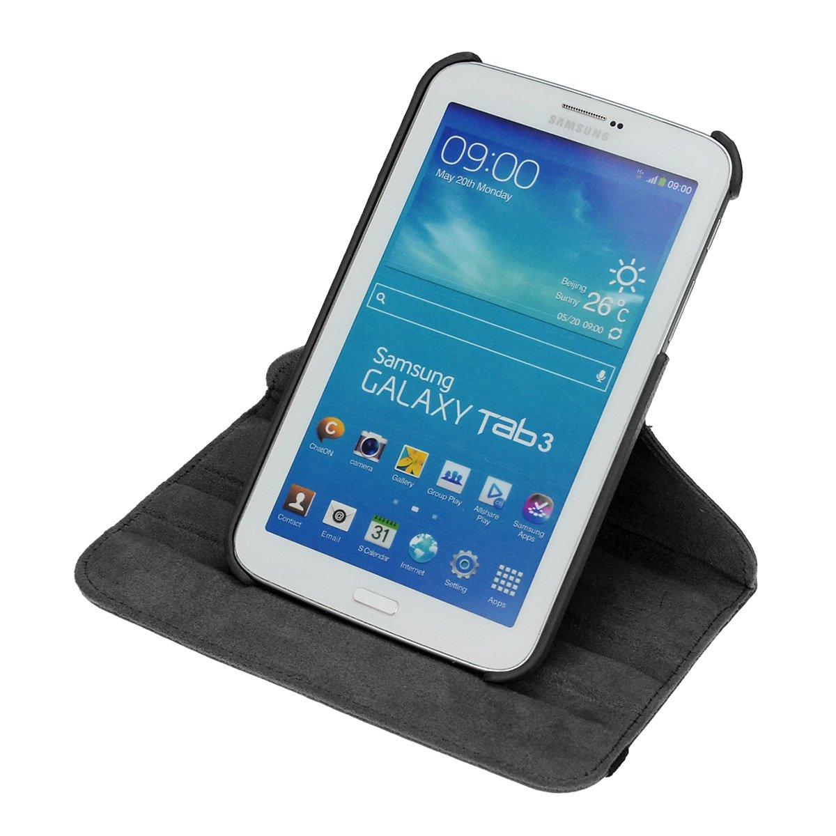 360 Gradi Rotable Protezione con Smart Funzione Sleep//Wake Up Etui Stare in Piedi Protettiva doupi Deluxe Custodia per Samsung Galaxy Tab 2 7 pollici Verde