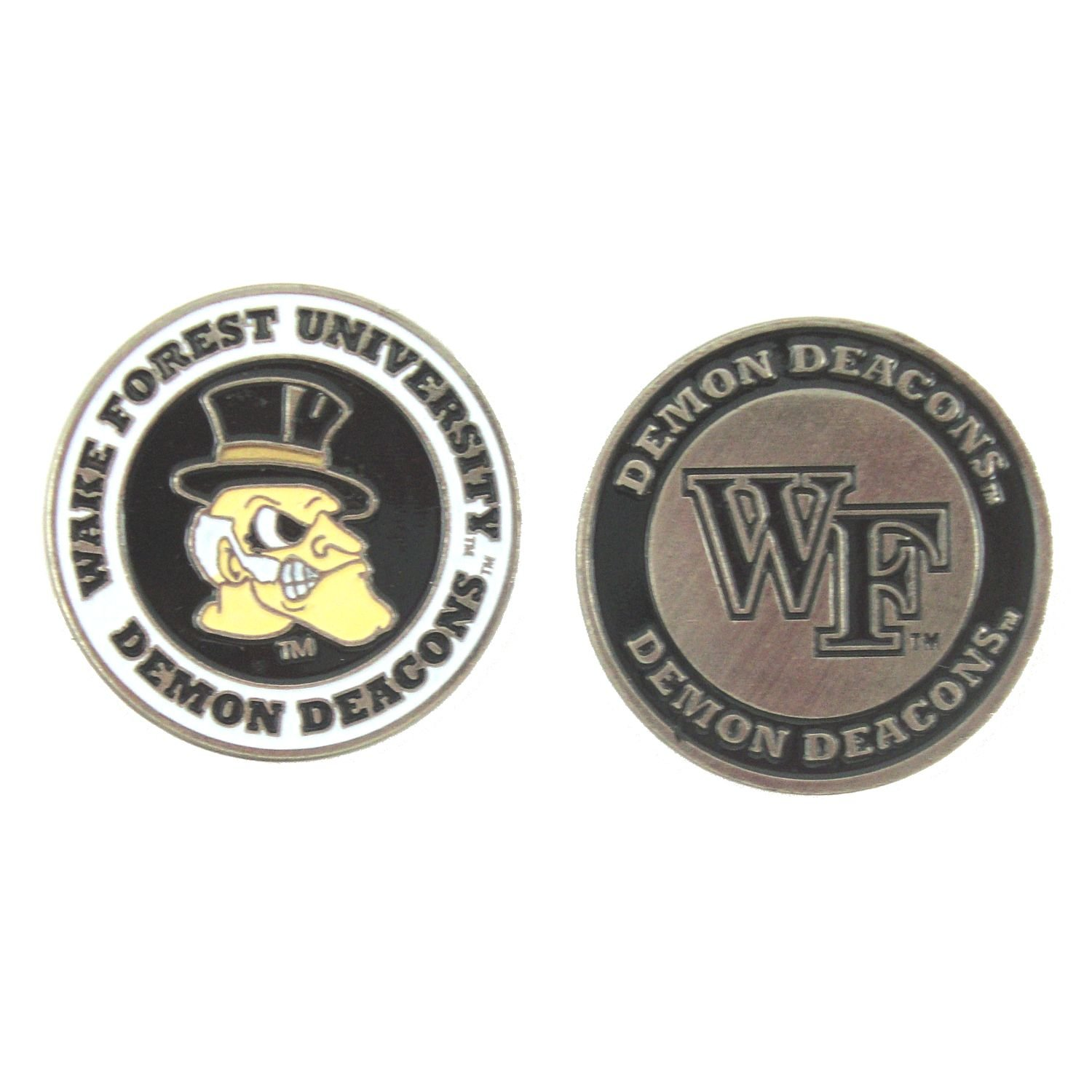 Wake Forest Demon Deacons Double-Sided Golf Ball Marker   B01M4FU1P3