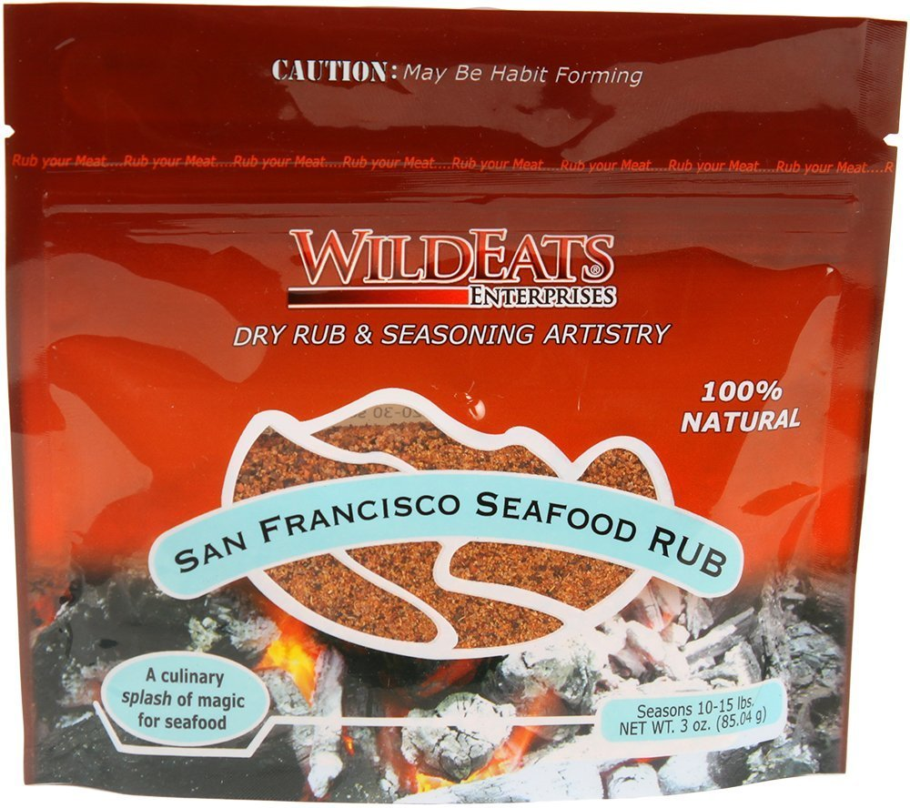 WildEats San Francisco Seafood Rub, 3 Oz., 5-Pack