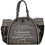 LE PANDORINE Classic - Successo donna, borsa a tracolla, grigio