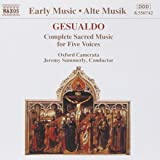 Gesualdo : Complete Sacred Music for Five Voices