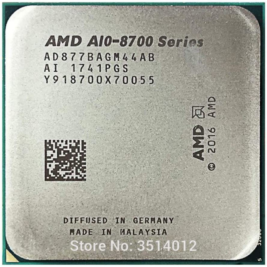 AMD A10-Series PRO A10-8770 A10 8770 3.5 GHz Quad-Core CPU Processor AD877BAGM44AB Socket AM4