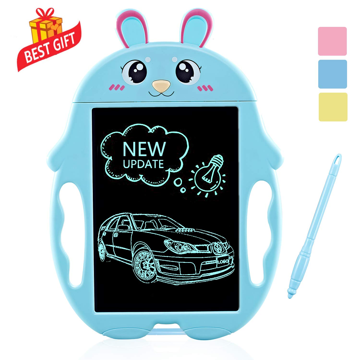 Creative Toys for 2-9 Years Old Boys, Magna Doodle Board for Kids Birthday Presents Gifts for Boys Age 3-10 Drawing Board Gifts for Kids 3-10 Years Old Boys-Girls LCD Writing Tabelt for Kids Blue by SLHFPX