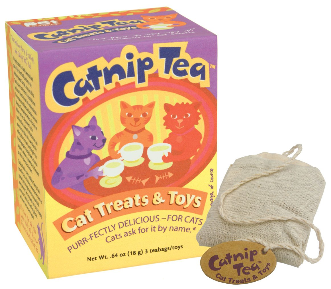 Catnip Tea - Cat Treats and Toys