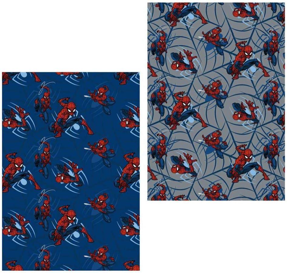 Spiderman Manta Calidad Franela Premium 22-3363 Multicolor 120x160