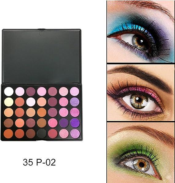 Sombra de ojos IMJONO, 35 colores, sombra de ojos de ...