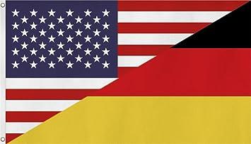 Fahne  Flagge Deutschland  USA NEU 90 x 150 cm Farbe Deutschland