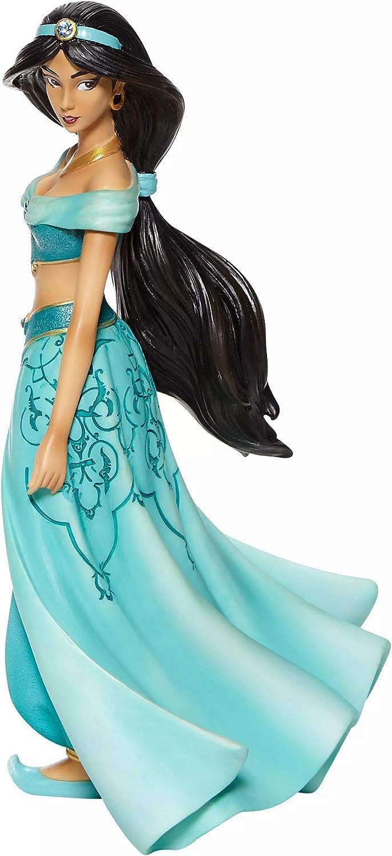 Enesco Disney Showcase Couture de Force Aladdin Jasmine Stylized Figurine, 8.27 Inch, Multicolor