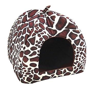 Cama para mascota de ALCYONEUS. Cama caliente con cojín para perro, gato, cachorro: Amazon.es: Productos para mascotas