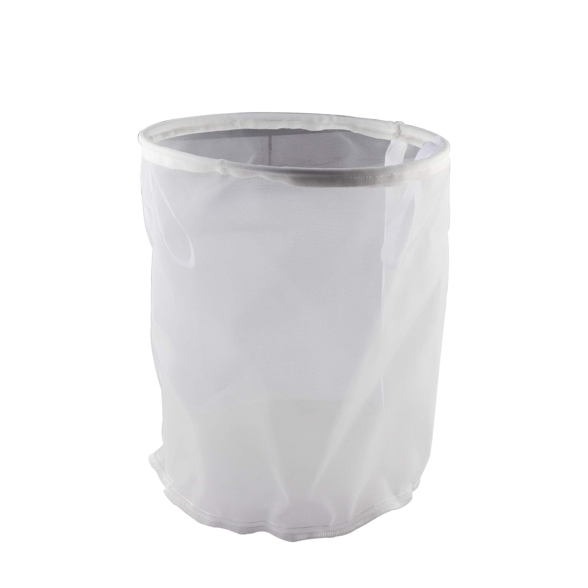 OneBom Brew Bag for Beer Making Reusable Fiber - Food Grade 30 Mesh Grain Malt Filter Bag Easy Clean for Home Brew (12.5''x16'')