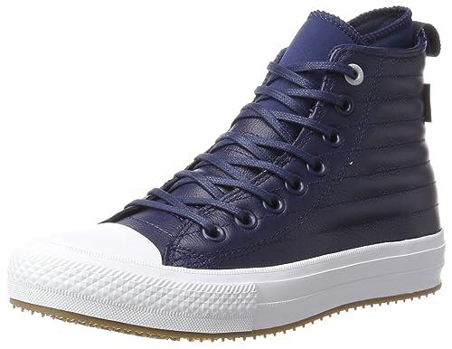 859b93d8737b Converse Ctas WP Boot Hi Midnight Navy Wolf Grey Sneaker a Collo Alto  Unisex-
