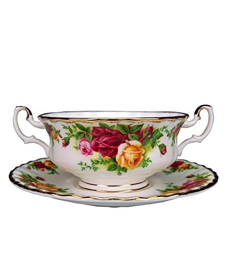 Amazon.com   Royal Albert Old Country Roses 11-ounce Cream Soup Cup ...