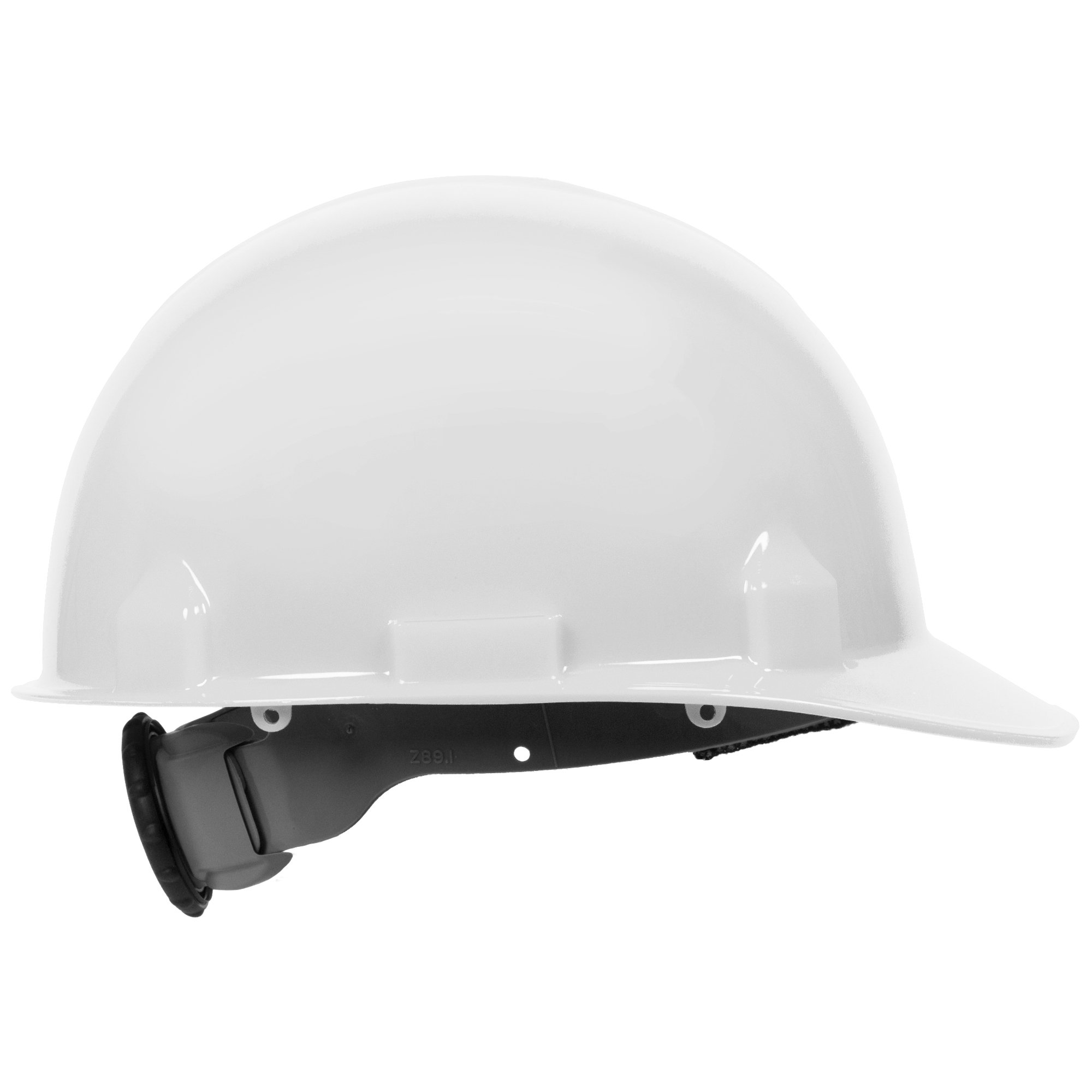 Jackson Safety SC-6 Hard Hat (14834), 4-Point Ratchet Suspension, Smooth Dome, Meets ANSI, White, 12 / Case by Jackson Safety (Image #3)