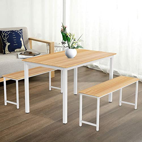 DKLGG Dining Set Kitchen Table and Chair
