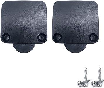 BlueXP - 2 interruptores de contacto para puerta de 230 V, encendido y apagado, para puertas y armarios, color negro: Amazon.es: Bricolaje y herramientas