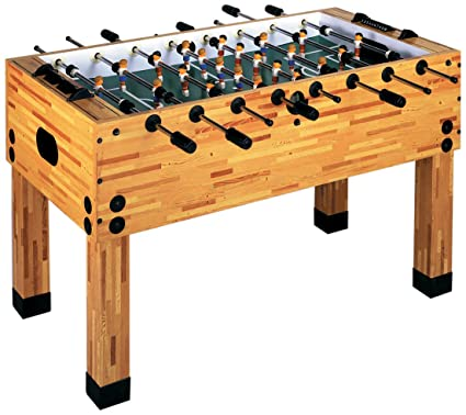 Imperial Classic Butcher Block Style Indoor Foosball/Soccer Game Table