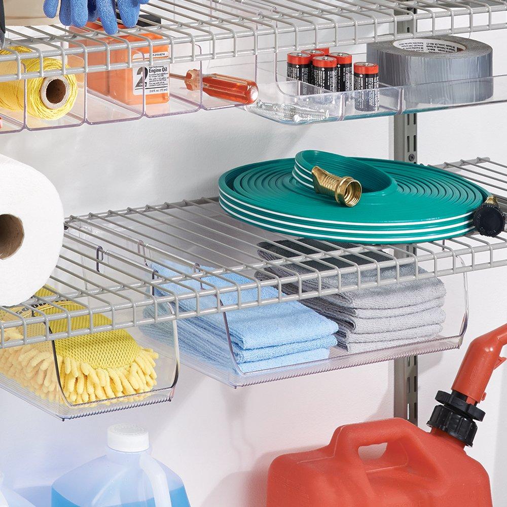 JustNile Wall-Mounted Shower Caddy/Toiletries Organizer/Detergent ...