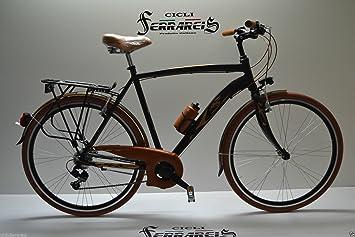 Bicicleta de paseo bicicleta City-Bike TRK 28 Aluminio Hombre 21 V ...