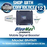 BlueMax BM921 Mobile Signal Booster 900+2100 MHz Dual Band