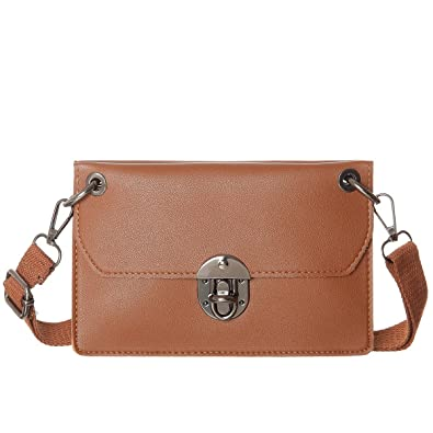1d630f5b7344 AOCINA Small Crssobody Bag Double Separate Pockets Crossbody ...