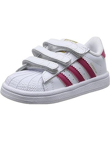 the best attitude 2666b 883fe adidas Superstar 2 CMF I ADIKIDS WHT BLK, Chaussures de Basketball Mixte  bébé.  3