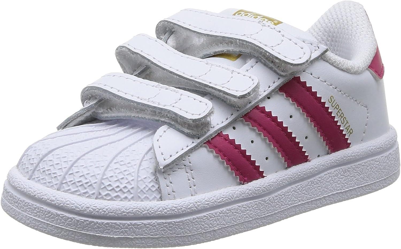 adidas Superstar Foundation CF I, Zapatillas para Aprender a Andar. Unisex bebé