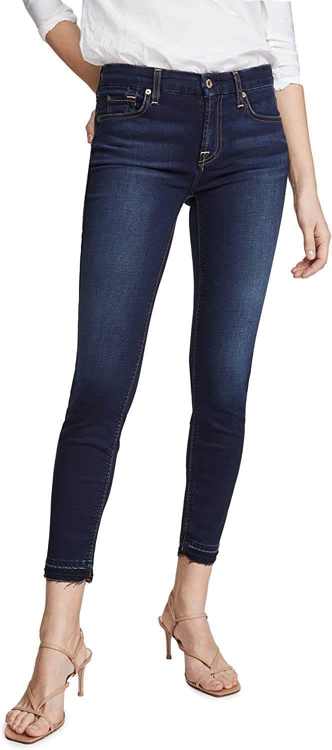 7 For All Mankind Womens Bair Ankle Skinny Jeans
