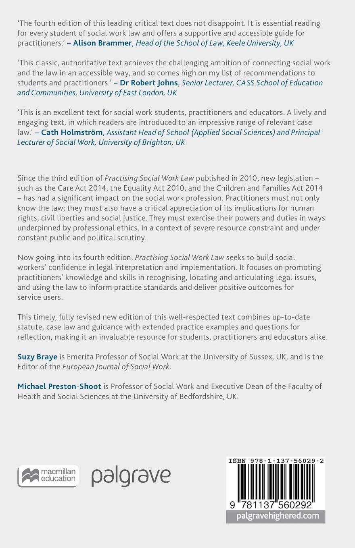 Practising Social Work Law (Practical Social Work Series