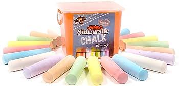 20-Piece Regal Games Jumbo Washable Sidewalk Chalk