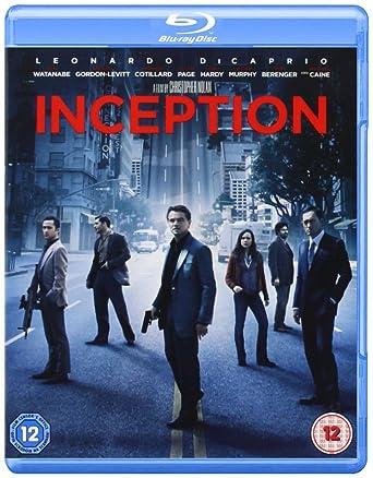 Inception [Blu Ray] [2010] [Region Free] by Amazon