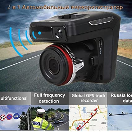 Nacome Car Recorder,2in1 Radar Recorder HD 1080P Car DVR Detector Camera Video Recorder Dash