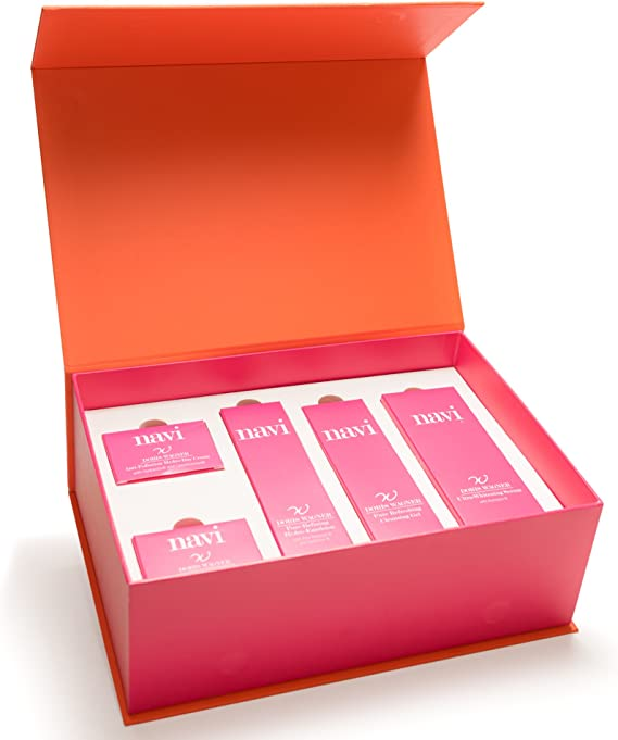 NAVI Pack de lujo / Set de Belleza hidratante / Regalos originales / Cremas faciales mujer Premium: Amazon.es: Belleza