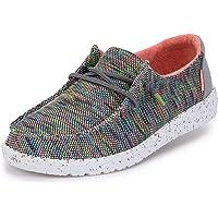 Hey Dude Wendy Sox - Kadın Günlük Ayakkabı - Moccasin Stili - Hafif Konfor - Ergonomik Hafızalı Köpük İç Taban - İtalya…