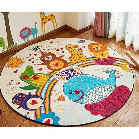 Amazon Com Zah Cartoon Children Rugs Bedroom Carpet Living Dining