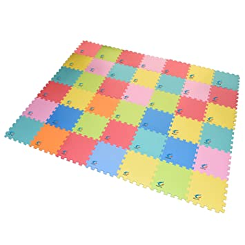 triangle extra thick foam mat puzzle play kids baby non playmat tiles amazon flooring toxic dp interlocking com eva