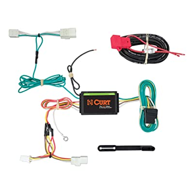 CURT 56259 Vehicle-Side Custom 4-Pin Trailer Wiring Harness for Select Subaru WRX: Automotive