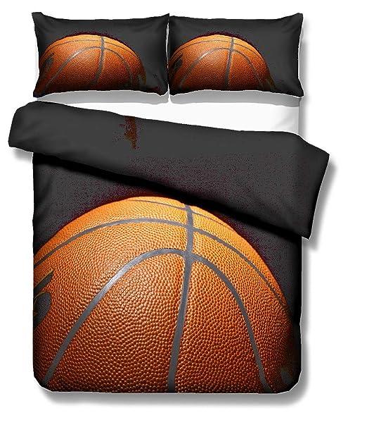 Ropa de cama 3D Llama Baloncesto Chispa Impresión Elegante Funda ...