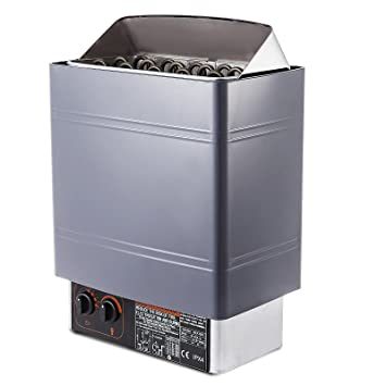 Guellin Estufa Eléctrica para Sauna 8kw / 9kw Calentador de Sauna 380-415V Sauna Stove