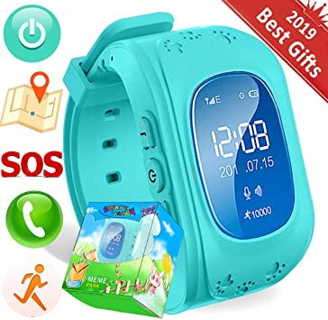 Turnmeon - Smartwatch para niños, con SIM, GPS, monitor ...