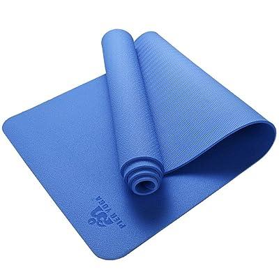 QIDI-tapis Yoga TPE Protection De L'environnement Insipide Antidérapant Tapis D'exercice 173 * 61 * 0.6cm (Couleur : T-1)